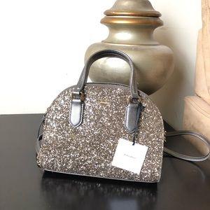 Kate Spade Laurel Way Glitter Mini Reiley Bag